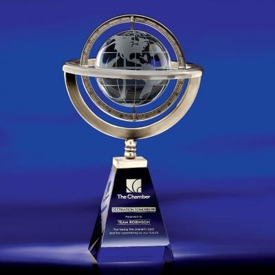Omni Globe Crystal Award image