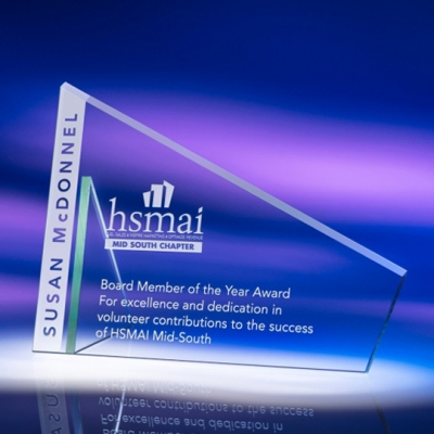 Advantage Crystal Award image