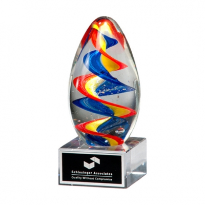 Colorful Glass Egg Award image
