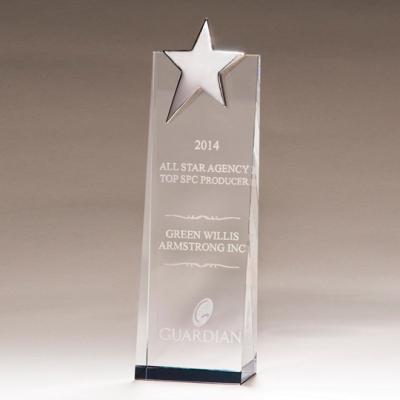 Silver Star Crystal Award image