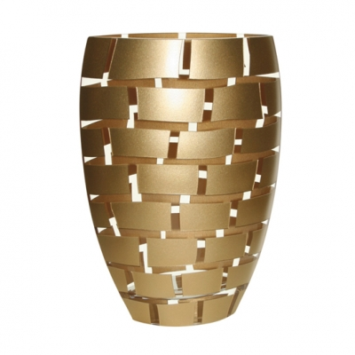 Gold Block Vase image