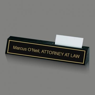 Nameplate & Cardholder image