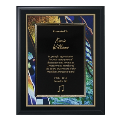 Black Artistic Plaque image