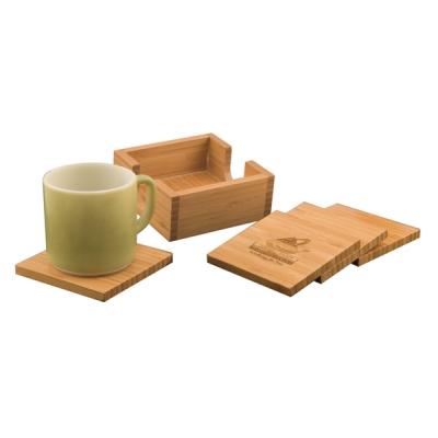 Bamboo Coasters image