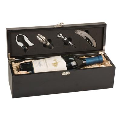 Black Single Wine Presentation Box image
