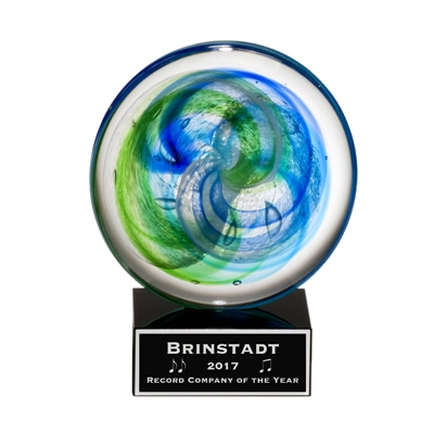 Art Glass Disc Award image