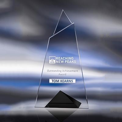 Skyward Starphire Crystal Award image