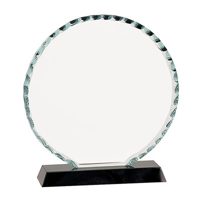 Round Facet Glass Award image