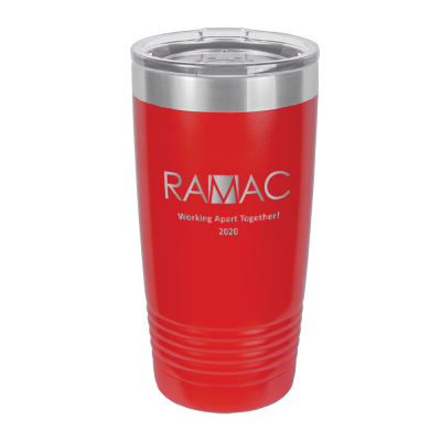 Stainless Steel Insulated 20 oz Tumbler with Personalization image