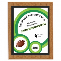 Football Plaques image