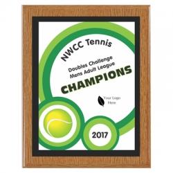 Tennis Plaques image
