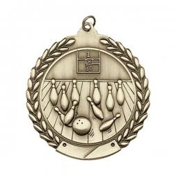 Bowling Wreath Medal