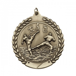 Karate Wreath Medal