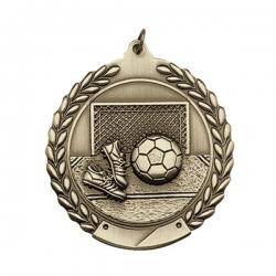 Soccer Wreath Medal