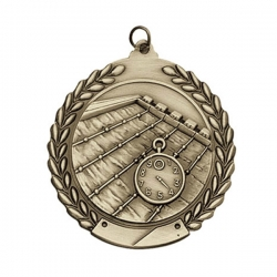 Swimming Wreath Medal