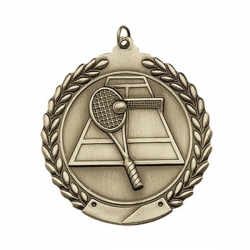 Tennis Wreath Medal