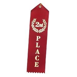 """""""2nd Place"""" Stock Ribbon"""