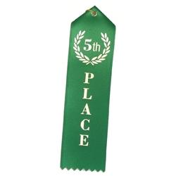 """5th Place"" Stock Ribbon"