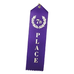 """7th Place"" Stock Ribbon"