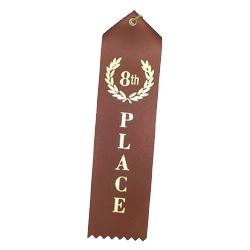 """8th Place"" Stock Ribbon"