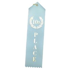 """10th Place"" Stock Ribbon"