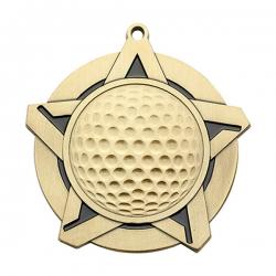 Golf Super Star Medal