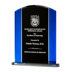 Blue Edge Black Glass Award