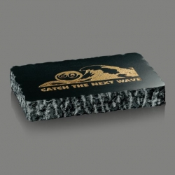 Chisel Edge Genuine Marble Paperweight