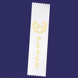 3rd Place Stock Flat Ribbon