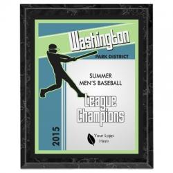 Titan Baseball Sport Plaque
