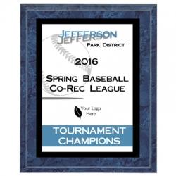 Falcon Baseball Sport Plaque