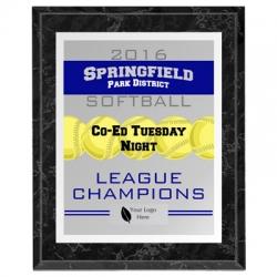 Knight Softball Sport Plaque