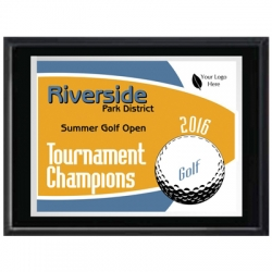 Panther Golf Sport Plaque