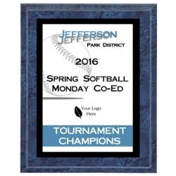 Falcon Softball Sport Plaque