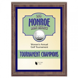 Spartan Golf Sport Plaque