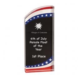 Stars & Stripes Acrylic Award