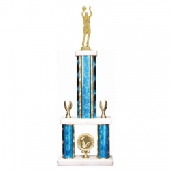 Rectangle Two-Tier Trophy