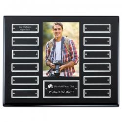 Black Photo Plaque