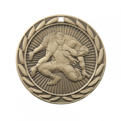 Wrestling Sunburst Medal