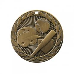 Baseball Sunburst Medal