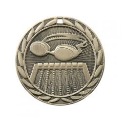Swimming Sunburst Medal