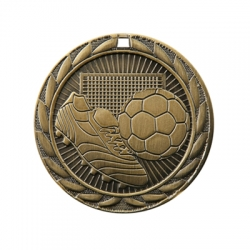 Soccer Sunburst Medal