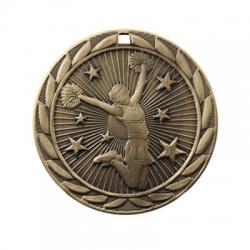 Cheerleading Sunburst Medal