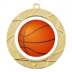 Color Sport Basketball Medal