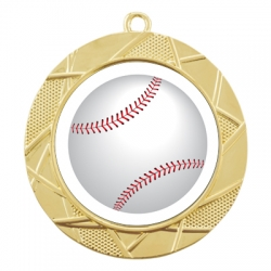 Color Sport Baseball Medal