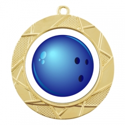 Color Sport Bowling Medal