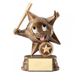 My Lil Star Baseball Award