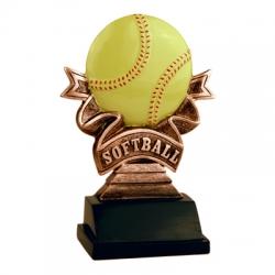 Softball Ribbon Award