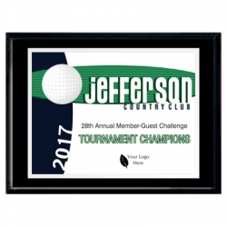 Bobcat Golf Sport Plaque