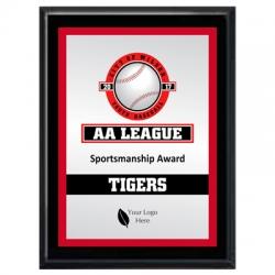 Bronco Baseball Sport Plaque